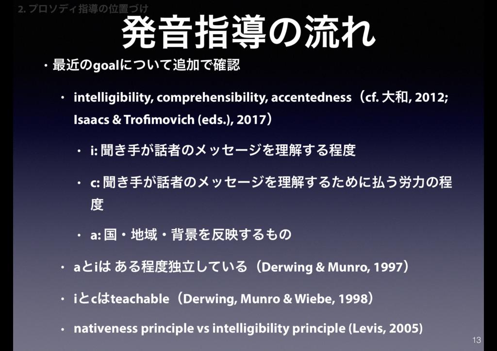 ൃԻࢦಋͷྲྀΕ • ࠷ۙͷgoalʹ͍ͭͯՃͰ֬ • intelligibility, c...