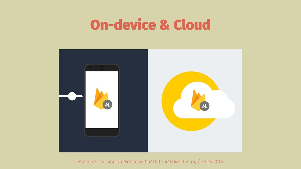 On-device & Cloud Machine Learning on Mobile wi...