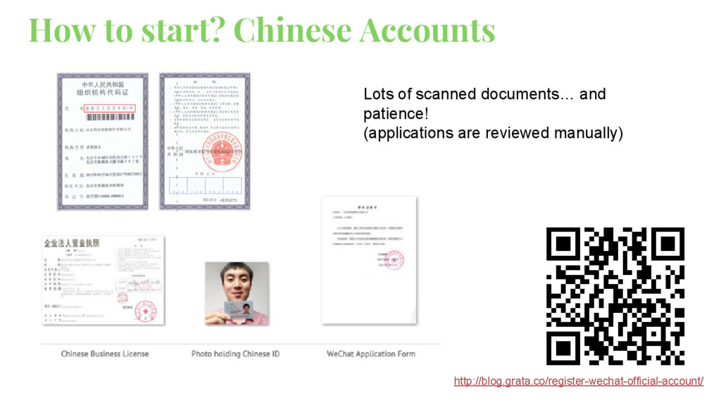 How to start? Chinese Accounts Lots of scanned ...