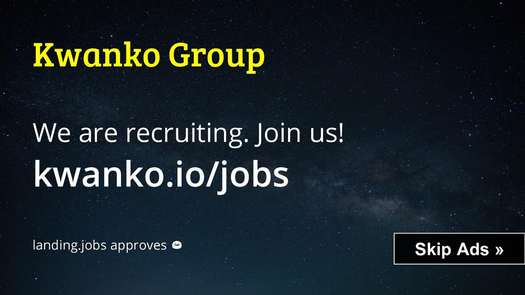 Skip Ads » Kwanko Group We are recruiting. Join...