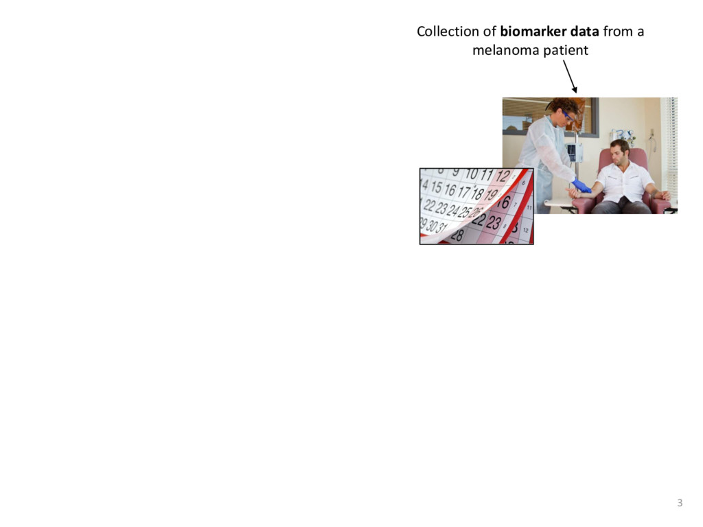 Collection of biomarker data from a melanoma pa...