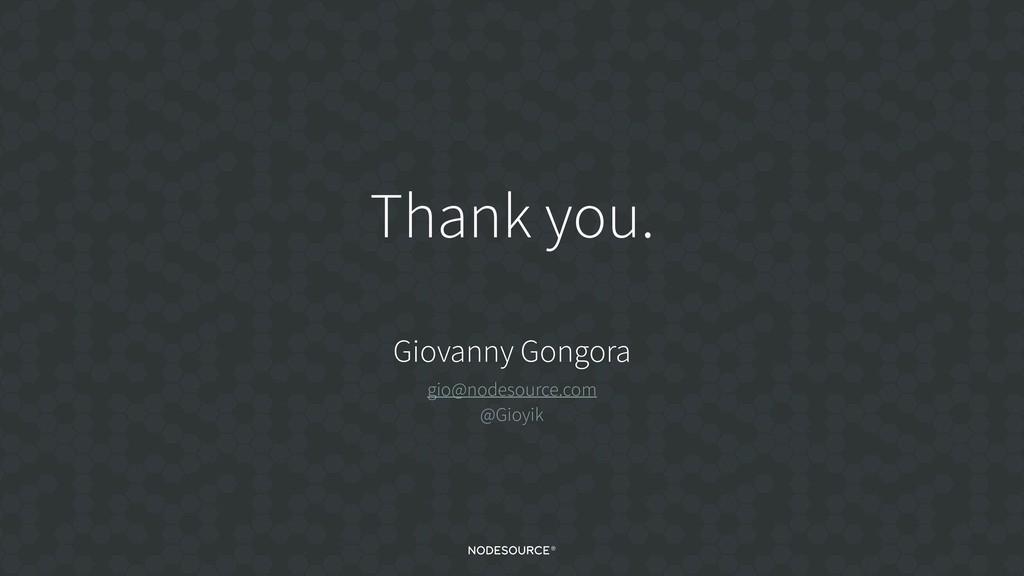 C O N F I D E N T I A L Thank you. Giovanny Gon...