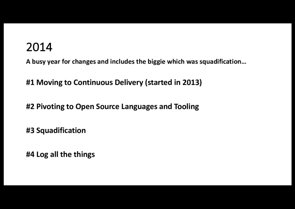 2014 #1 Moving to Continuous Delivery (started ...