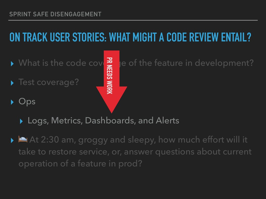 ▸ What is the code coverage of the feature in d...