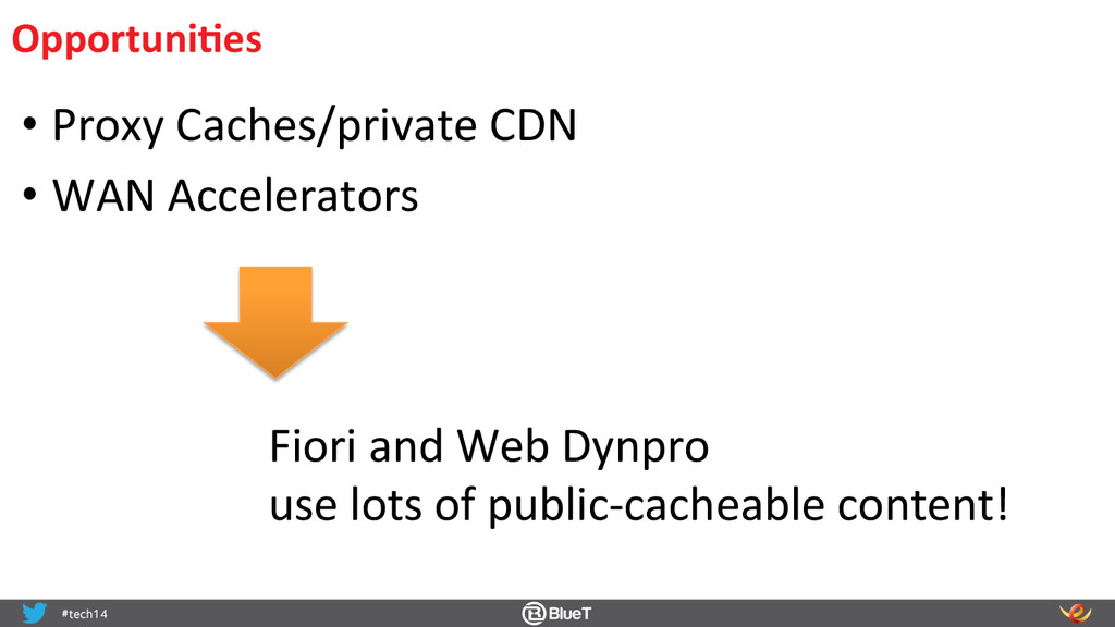 OpportuniIes  •Proxy Caches/private C...