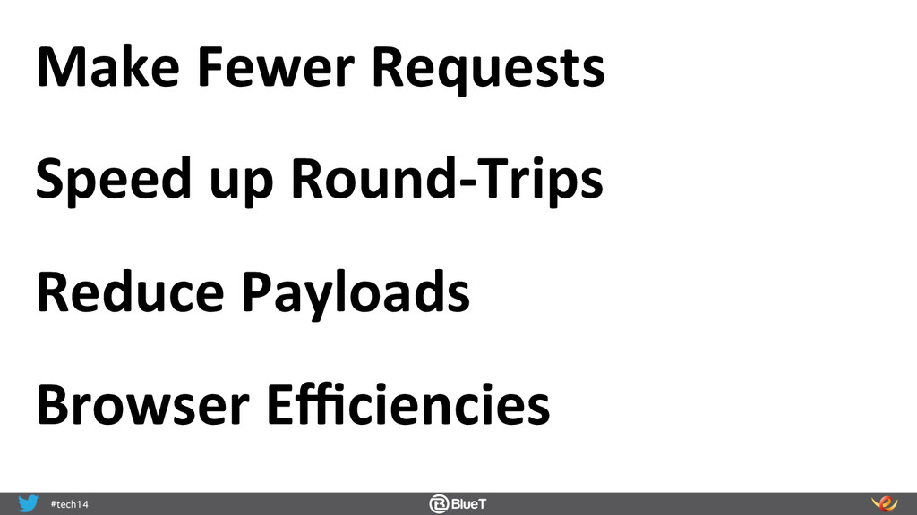 Make Fewer Requests  Speed up Ro...