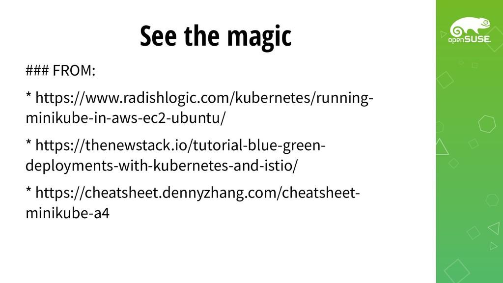 See the magic ### FROM: * https://www.radishlog...