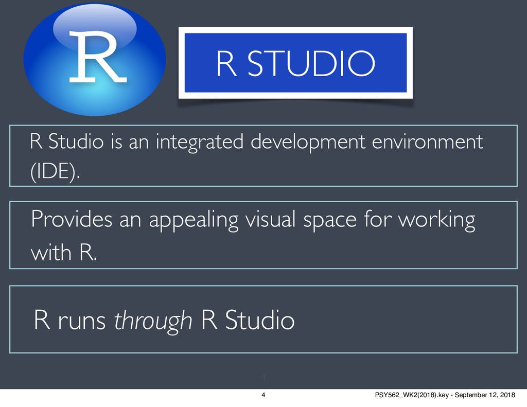 R Studio is an integrated development environme...