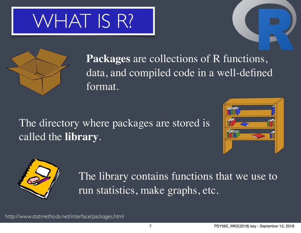 WHAT IS R? 7 http://www.statmethods.net/interfa...