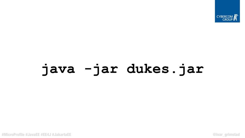@ivar_grimstad #MicroProfile #JavaEE #EE4J #Jaka...