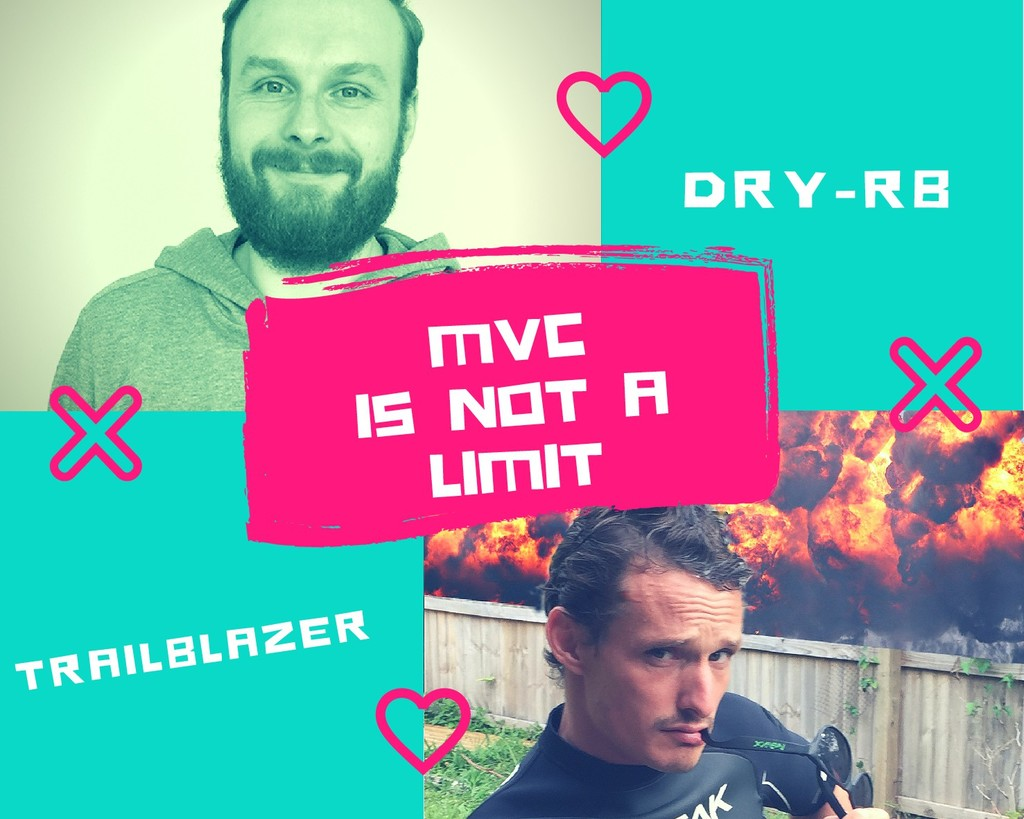 DRY-RB TRAILBLAZER MVC IS NOT A LIMIT