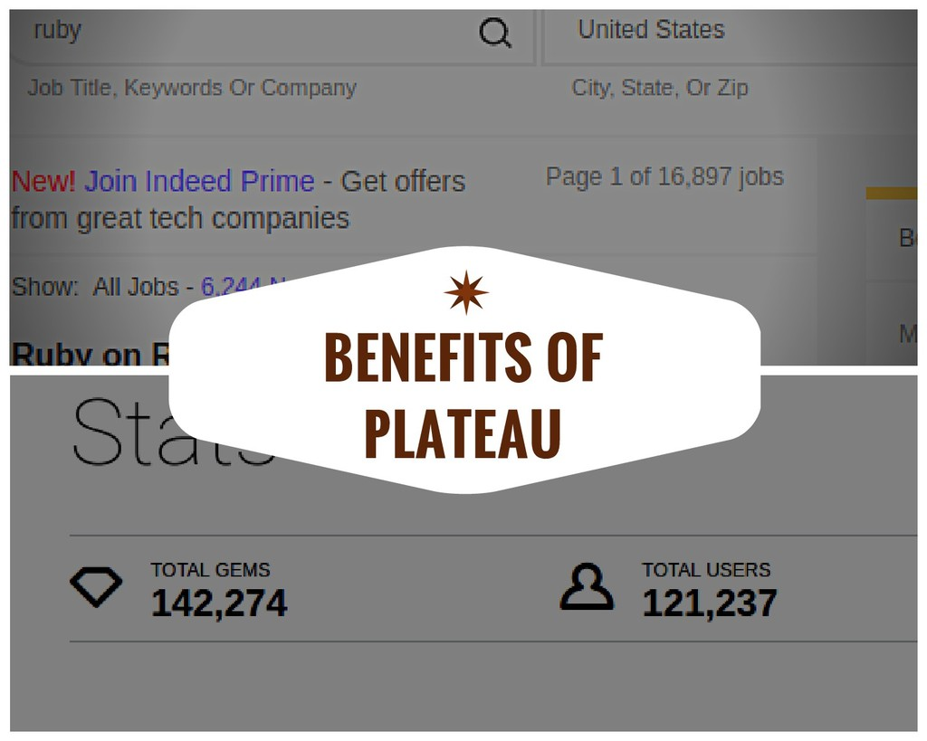 BENEFITS OF PLATEAU