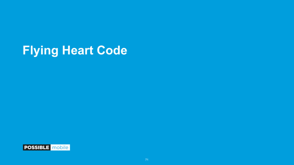 Flying Heart Code 71