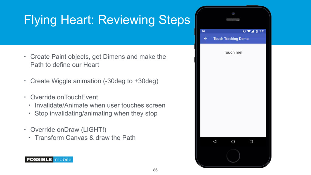 Flying Heart: Reviewing Steps • Create Paint ob...
