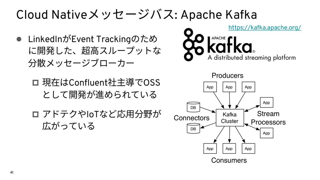 Cloud Nativeメッセージバス: Apache Kafka l LinkedInがEv...