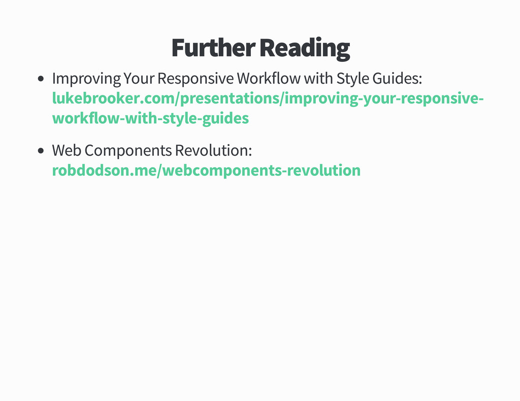Further Reading Improving Your Responsive Workf...