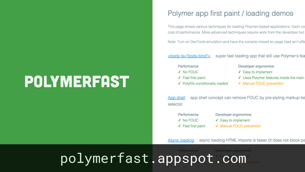polymerfast polymerfast.appspot.com