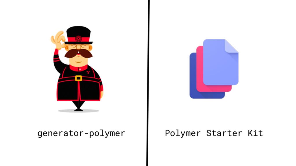 generator-polymer Polymer Starter Kit