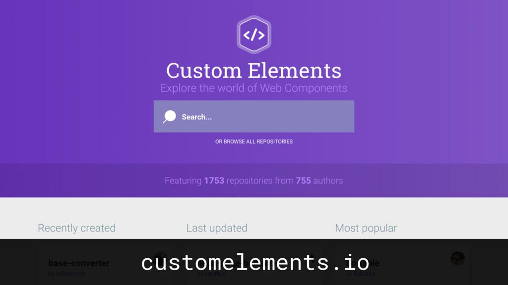 customelements.io