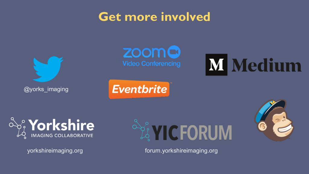 Get more involved @yorks_imaging yorkshireimagi...