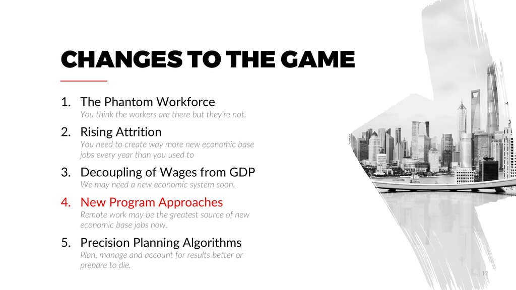 CHANGES TO THE GAME 1. The Phantom Workforce Yo...