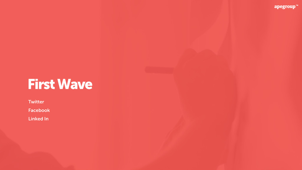 First Wave Twitter Facebook Linked In
