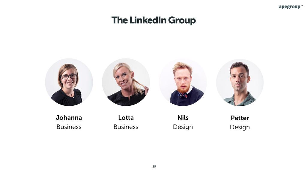 25 The LinkedIn Group Johanna Business Lotta Bu...