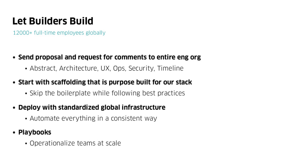 Let Builders Build 12000+ full-time employees g...
