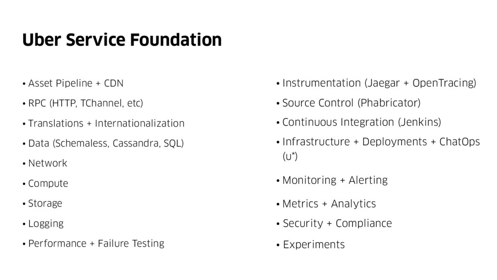 Uber Service Foundation • Instrumentation (Jaeg...