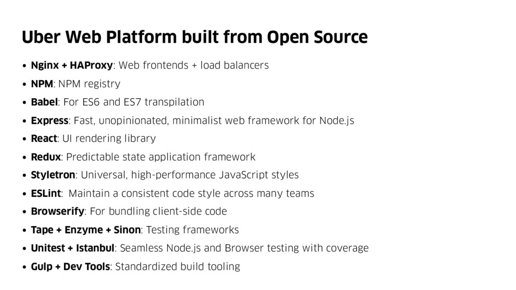 Uber Web Platform built from Open Source • Ngin...