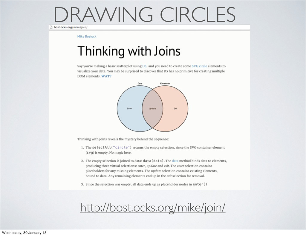 DRAWING CIRCLES http://bost.ocks.org/mike/join/...