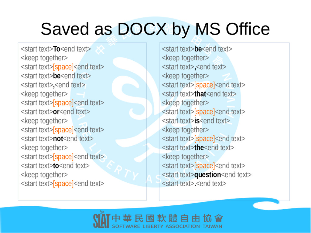Saved as DOCX by MS Office <start text>To<end t...