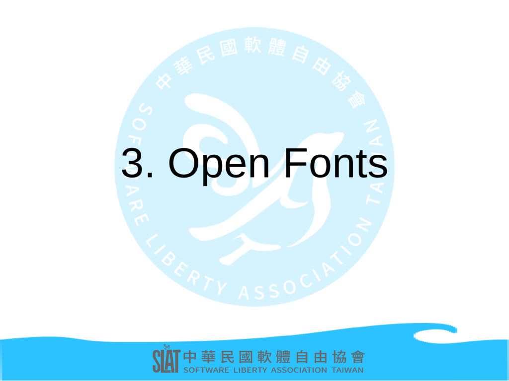 3. Open Fonts