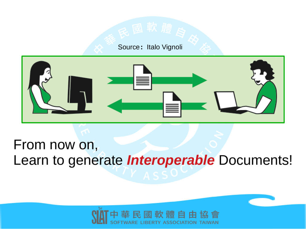 From now on, Learn to generate Interoperable Do...