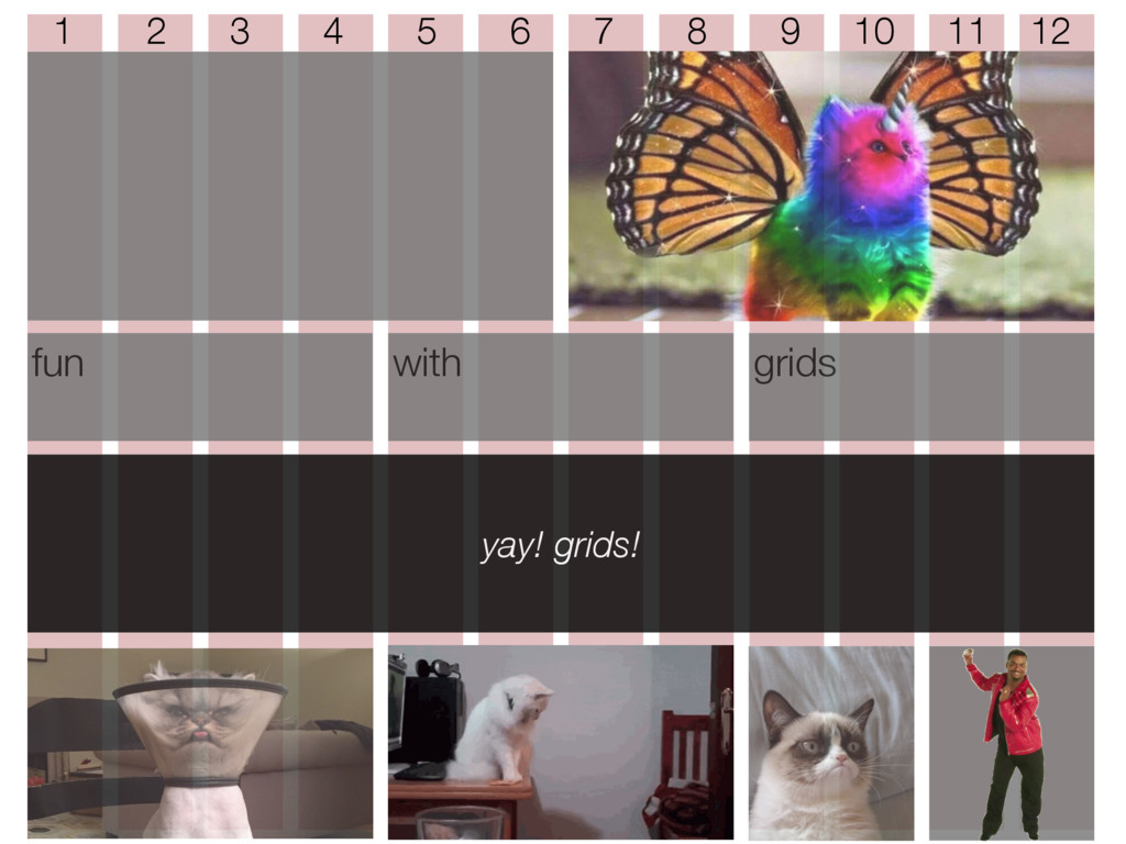 fun with grids yay! grids! 1 2 3 4 5 6 7 8 9 10...