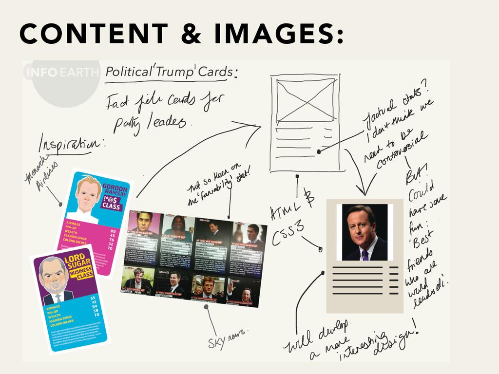 CONTENT & IMAGES:
