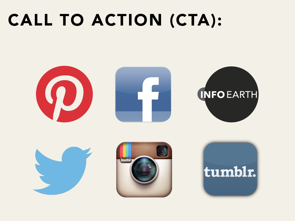 CALL TO ACTION (CTA):