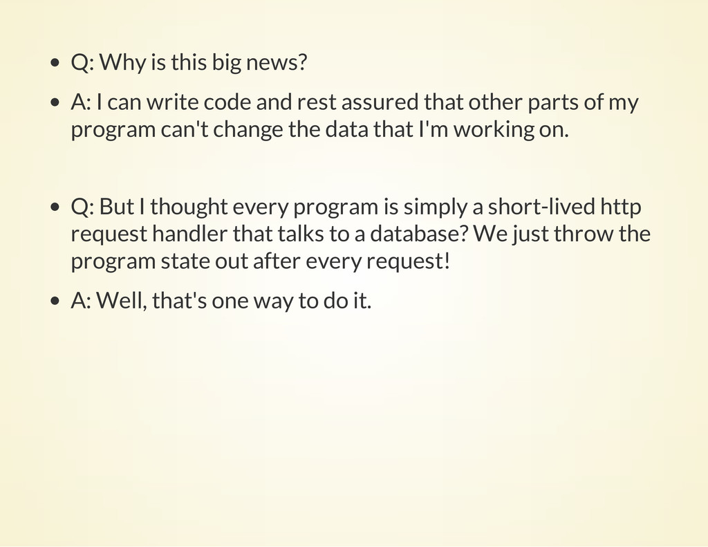 Q: Why is this big news? A: I can write code an...