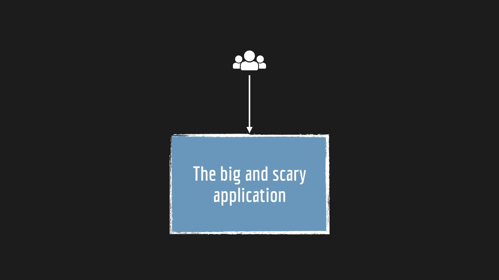 The big and scary application
