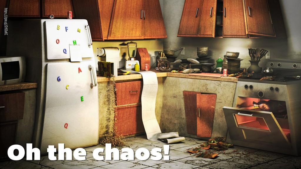 Oh the chaos! https://goo.gl/D4DvKC