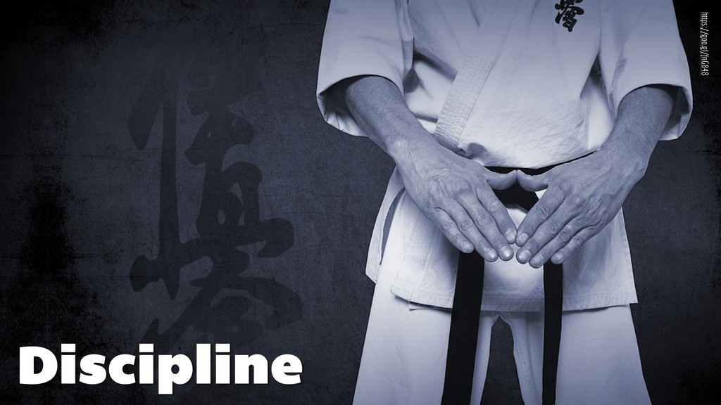 Discipline https://goo.gl/fnG848