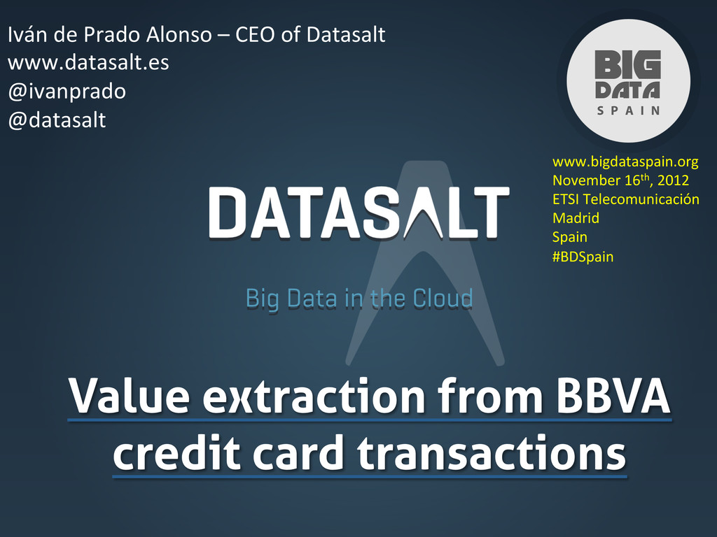 Value extraction from BBVA credit card transact...