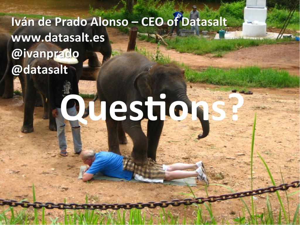 Iván de Prado Alonso – CEO of...