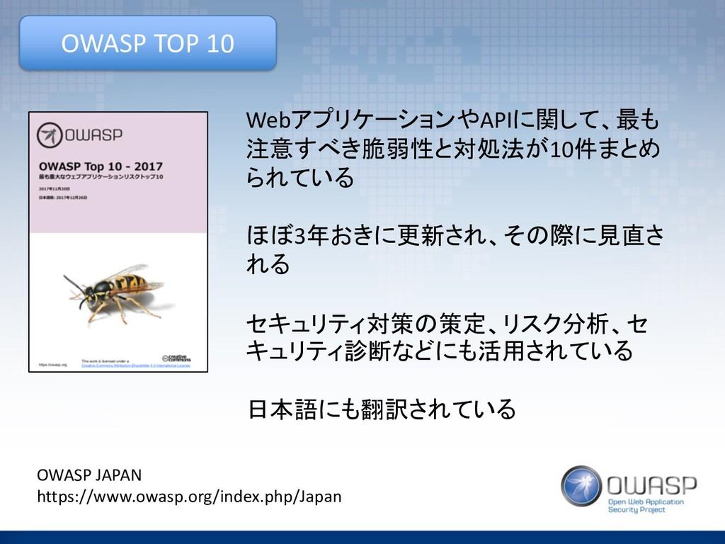 OWASP TOP 10 Web8AD<F=CE4API,%(3  &.#)...