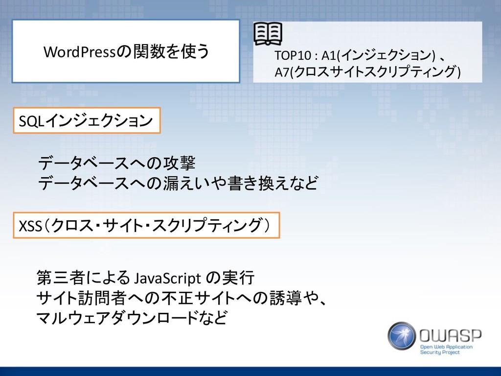 WordPress ! SQL$:+&'*6: XSS='9,;)$1;,'73/#:...