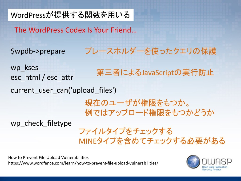 WordPress +,+ The WordPress Codex Is You...