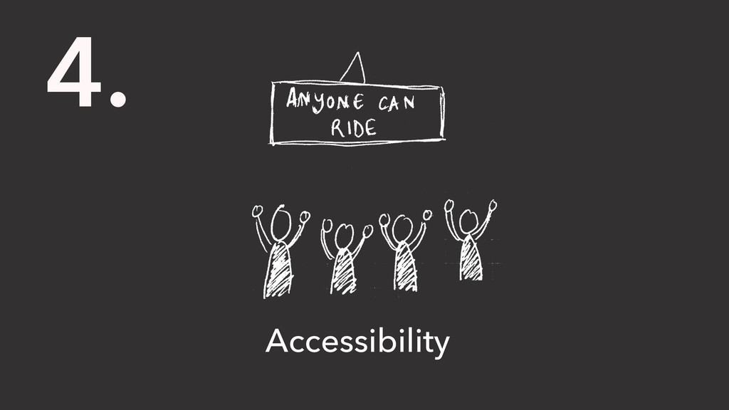 4. Accessibility