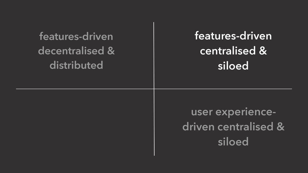 features-driven decentralised & distributed use...
