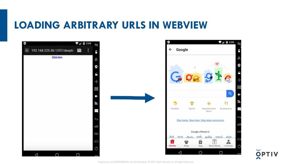 LOADING ARBITRARY URLS IN WEBVIEW