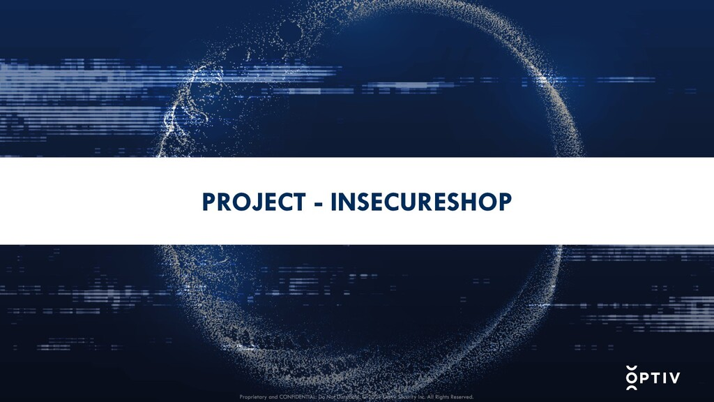 PROJECT - INSECURESHOP